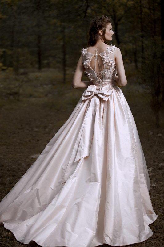 Платье свадебное поляна
