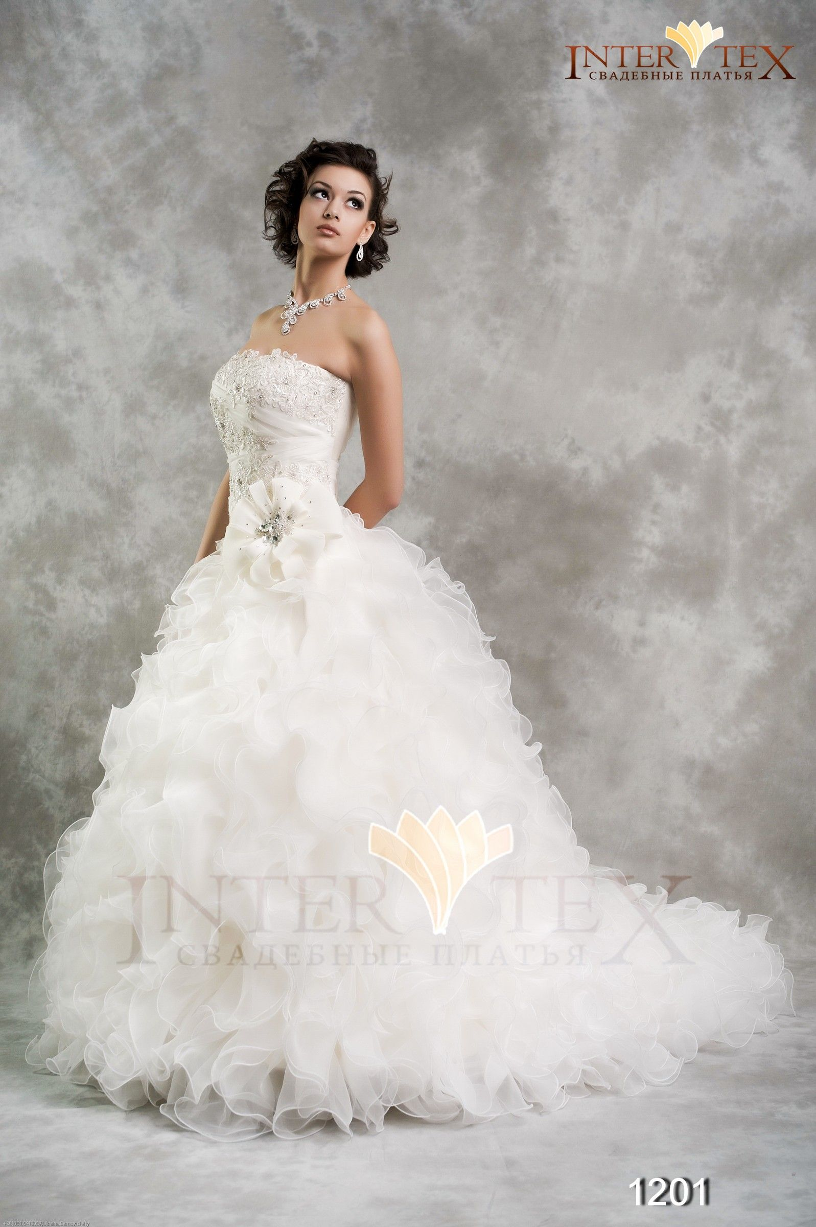Свадебное платье 1201 / Весна-Лето 2012 / Intertex / 32 Свадьбы