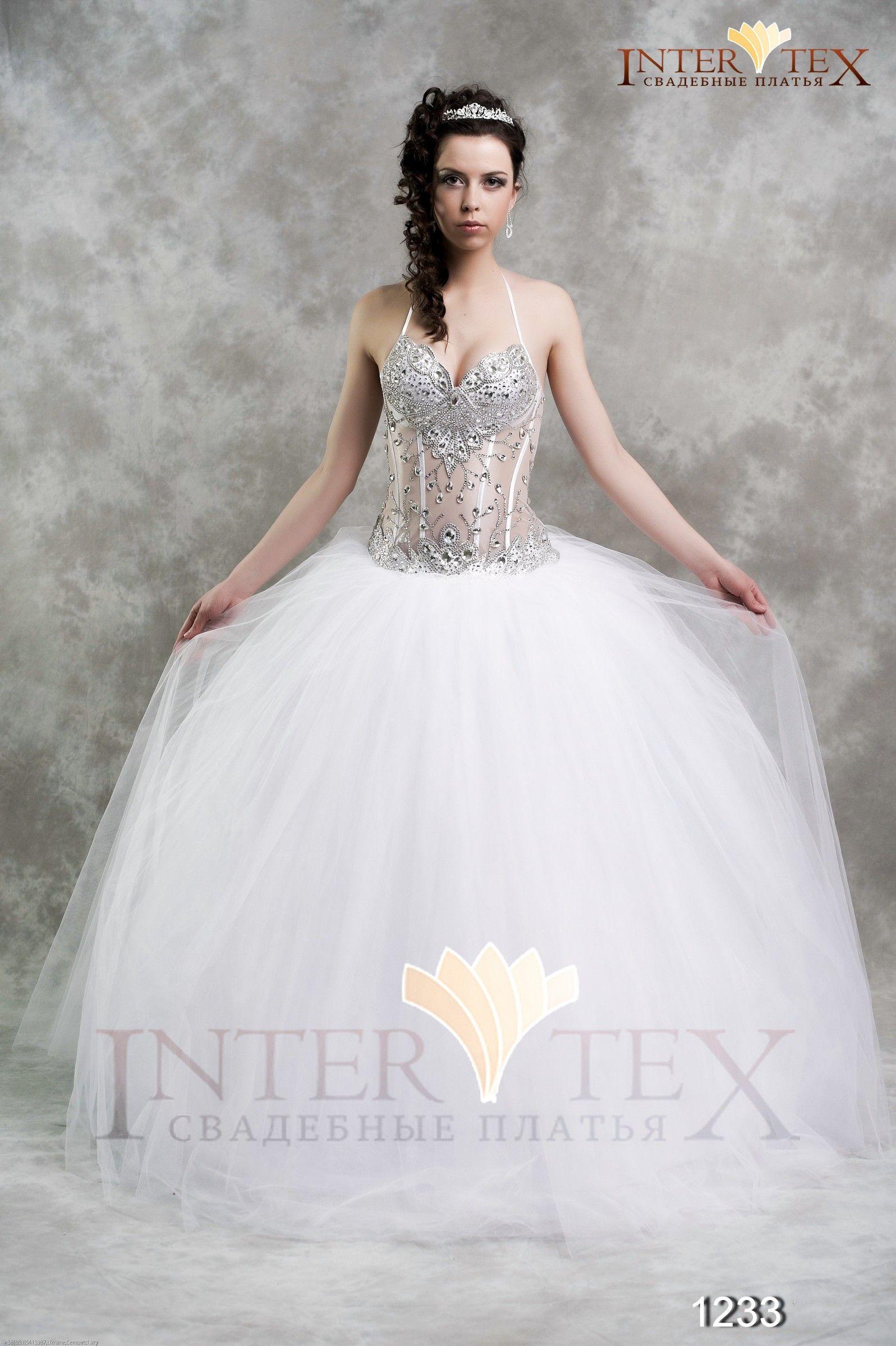 Свадебное платье 1233 / Весна-Лето 2012 / Intertex / 32 Свадьбы