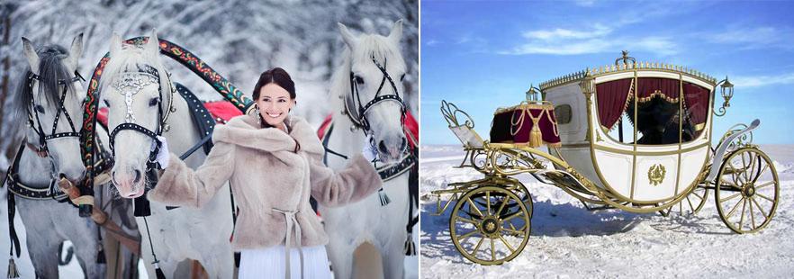 Картинки зимой с каретой