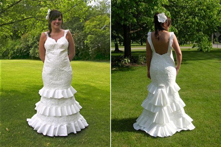 Пакет для свадебного платья